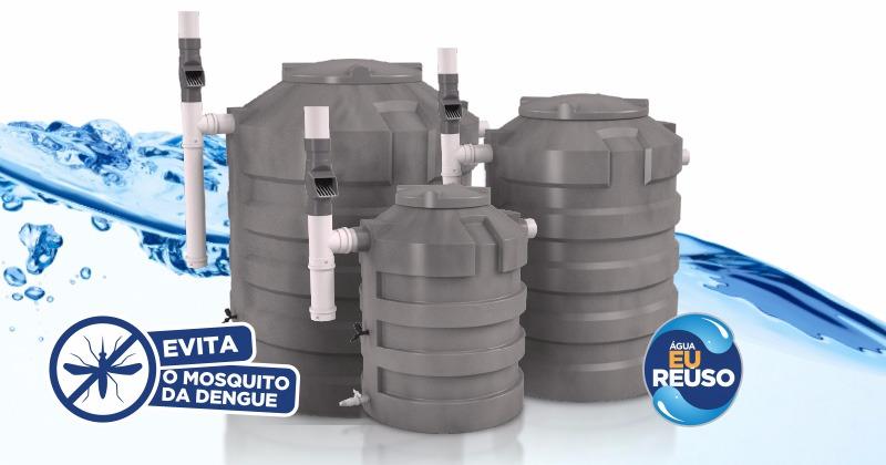 Conheça a Nova Cisterna Eco Vertical Tecnotri