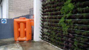 Cisterna Vertical é a Estrela em Novo Espaço Para Arquitetura Sustentável