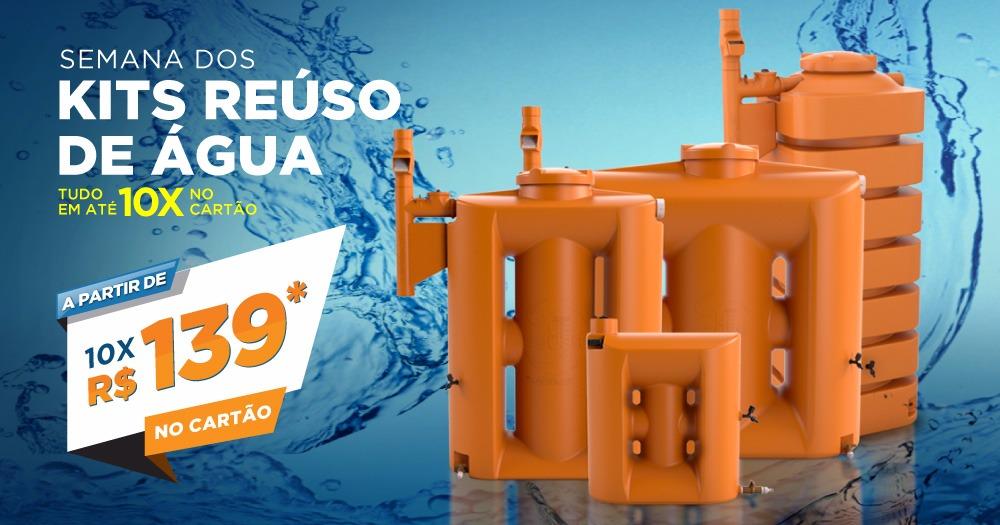 Kit Reúso de Água Tecnotri, 10 Motivos para Comprar!