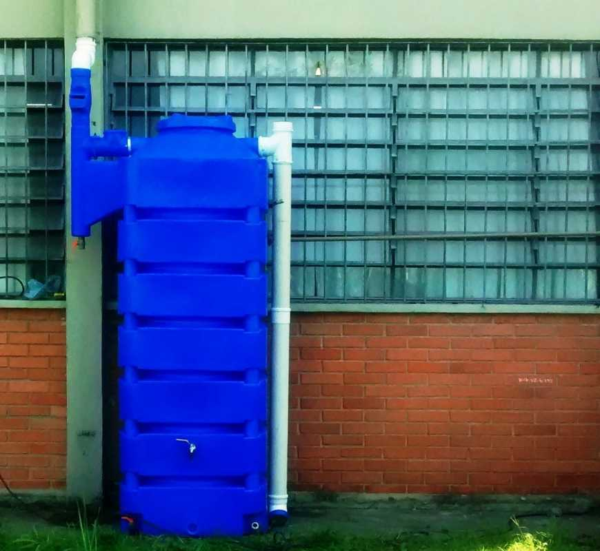 Escola Estadual do Litoral de São Paulo Recebe Sistema Inédito de Captação de Água