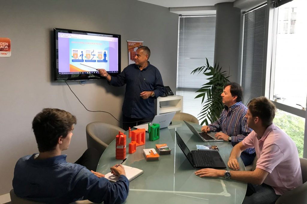 Tecnotri realiza treinamento para nova credenciada em Santa Catarina