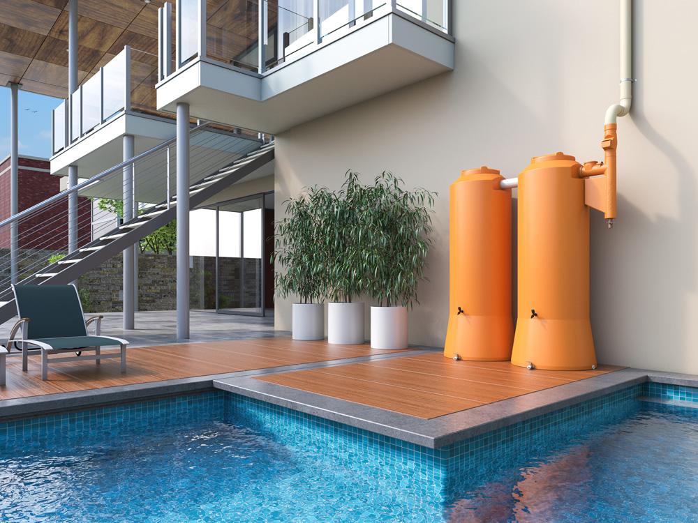 Nova Cisterna Vertical 750 L. Compacta no tamanho, gigante na economia