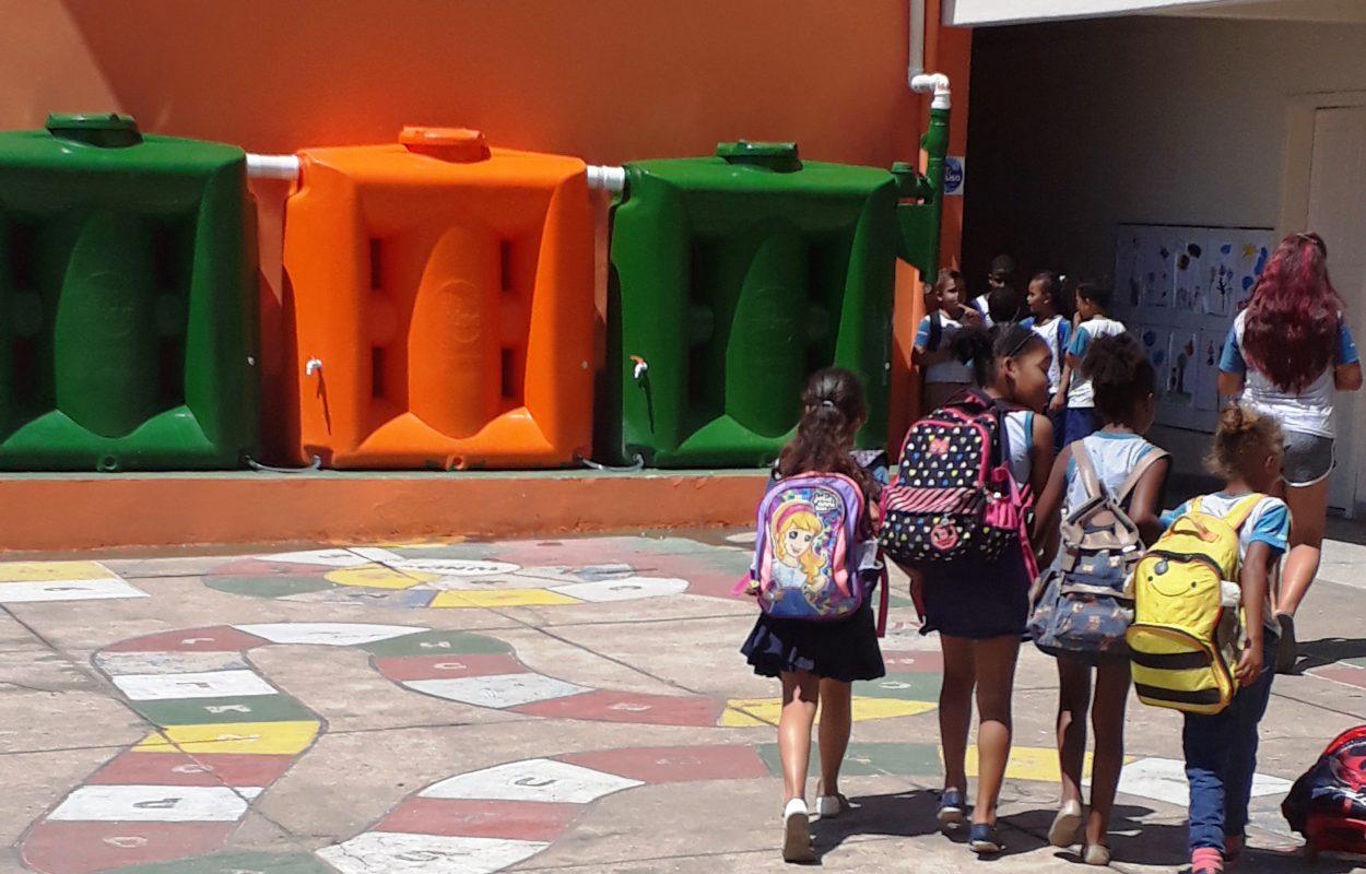 Escolas em Santa Bárbara:MG saem na frente na questão sustentabilidade