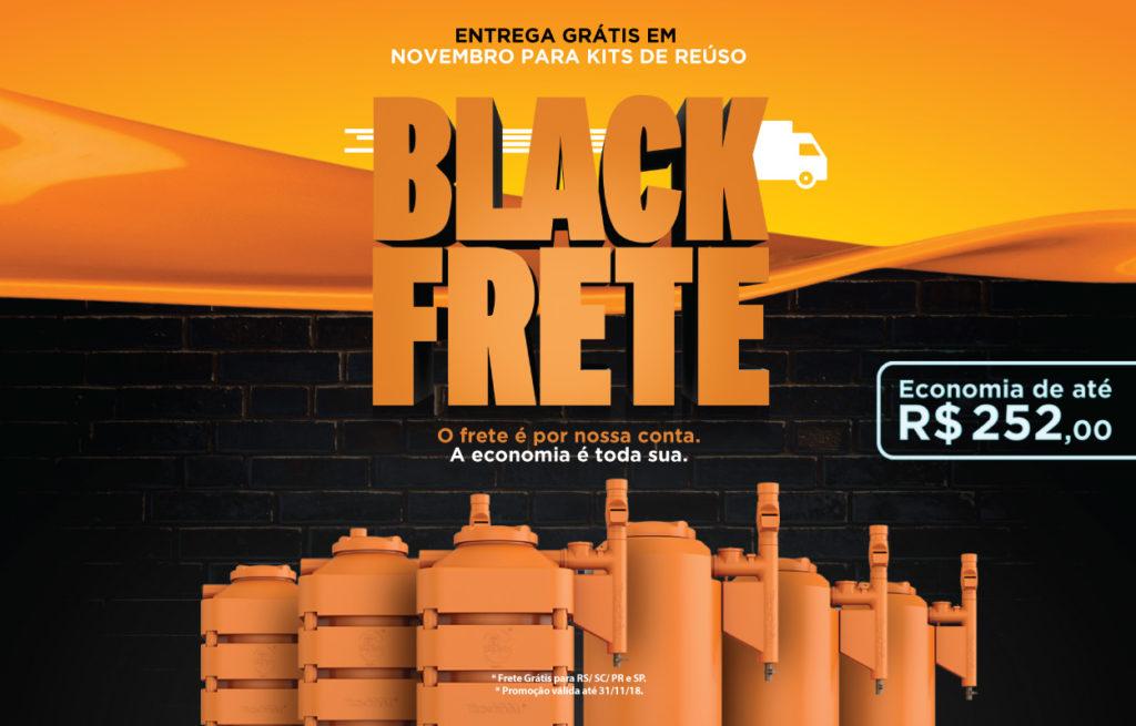 Black Frete Tecnotri. Entrega Grátis para Kits de Reúso