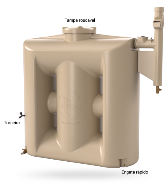 Detalhes da Cisterna Tecnotri