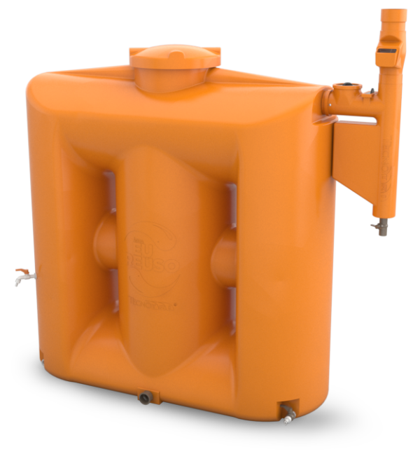 Cisterna-Kit-Reuso-de-Agua-1000L-Tecnotri-com-Smart-Filtro-Laranja