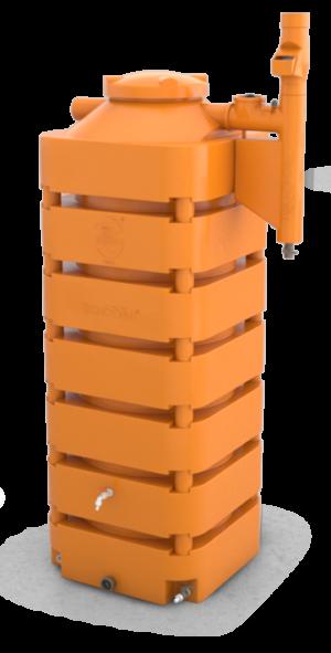 Cisterna-Kit-Reuso-de-Agua-1050L-Tecnotri-com-Smart-Filtro-Laranja