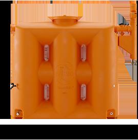 Cisterna Rotomoldada Tecnotri 1000L