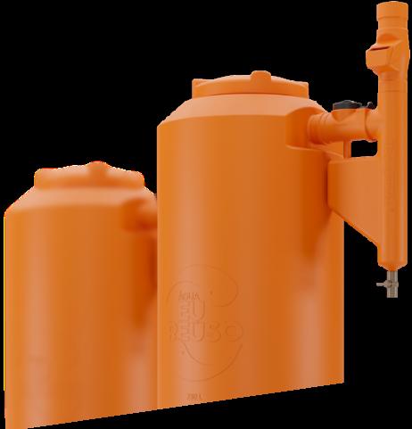 Cisterna Rotomoldada Tecnotri 750L