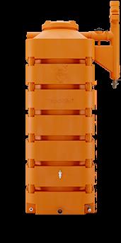 Cisterna Rotomoldada Tecnotri 1050L